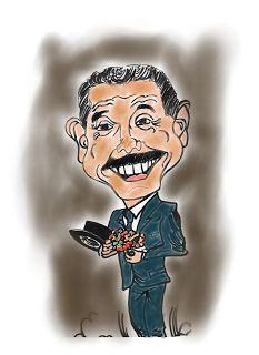 CARICATURAS DELBOY: EL PROFESOR JIRAFALES