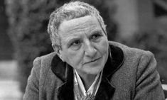 Gertrude Stein born in Allegheny, NY on February 3, 1874 – July 27, 1946, was an American writer, poet and art collector. Works include: Reflection on the atomic bomb, Yale Gertrude Stein +109 more.