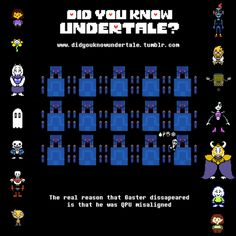 Did You Know Undertale