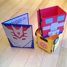 Transformers Party Invitations & Favors by ThePaperCard on Etsy, $32.00