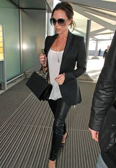 Victoria Beckham #fashion #outfit #style #celebrities