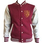 Vintage style Gryffindor House varsity jacket with gold emblem in front and back. Amazing!