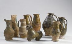 Medieval earthenware | Medieval pottery
