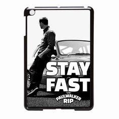 Stay Fast Paul Walker iPad Mini Case