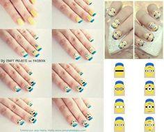 次に来るのはミニオンズネイル?!( Catch of the minion's nail?!) | Self nail Magazine