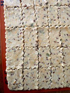 crackers farine de soja précuite, gluten free