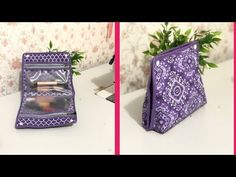 Bag Patterns To Sew, Sewing Patterns, Craft Bags, How To Make Handbags, Lily, Gift Wrapping, Make It Yourself, Videos, Projects
