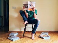 Osoby, Czytanie, Magazyn, Młody, Strona Główna, Kryty