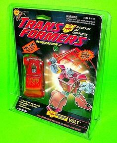 VOLT-G2-TRANSFORMERS-Vtg-Robot-Laser-Hot-Rod-Car-Engine-Light-Up-Saber-Weapon