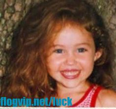 Photo Gallery - celebrities as kids Hannah Montana as a kid