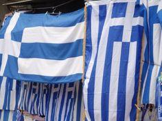 Flags for sale, Monastiraki/Plaka.