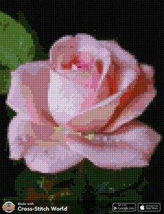 Cross Stitch, Tapestry, Cross Stitch Art, Punto Cruz, Earth, Roses, Nature, Embroidery, Flowers