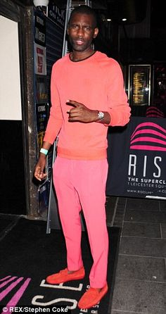 GQ Most Stylish Men Of The Week ~ Wretch Trust us, pink is going to be popular this season and whilst this look might be for only the boldest men among us, the rapper pulls it off perfectly. 25th Birthday, Birthday Celebration, Wretch 32, Alexandra Burke, Most Stylish Men, Go Pink, Gq Style, Dapper, Male Models