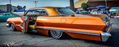 Tattoo's cars and bike's. 1963 Chevy Impala, Low Rider, Antique Cars, Classic Cars, Bike, Vehicles, Vans, Facebook, Lifestyle