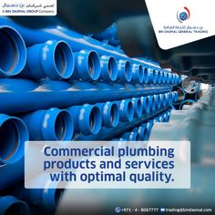 We are recognized as the leader in the plumbing equipment suppliers in UAE, they supply PPR, CPVC pipes fitting for different water management, irrigation, water distribution and related industries.