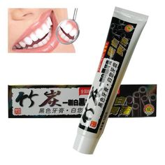 100g Teeth Whitening Toothpaste Black Bamboo Charcoal Whitening Toothpaste All-purpose Oral Hygiene Teeth Care #Affiliate