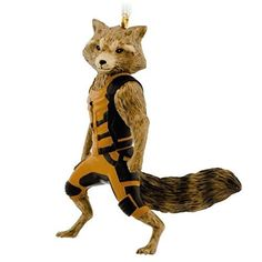 Hallmark Guardians of the Galaxy Rocket Raccoon Christmas Ornament http://order.sale/BRFc (via Amazon)