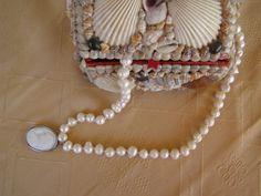 Ivory fresh water pearls necklace/wedding ivory fresh by Mpoulitsa Pearl Necklace Wedding, Water Pearls, Freshwater Pearl Necklaces, Fresh Water, Ivory, Trending Outfits, Unique Jewelry, Handmade Gifts, Etsy