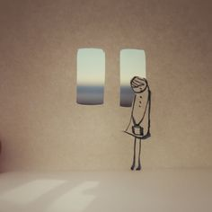 Japanese photographer Kouichi Chiba does not need special equipment and complicated gadgets to create his charming world of paper people. Paper People, Type Illustration, Chiba, Candle Sconces, Paper Cutting, Paper Art, Wall Lights, Miniatures, Japanese