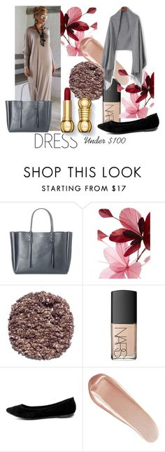 """DRESS Under $100"" by plumsandhoneyvintage ❤ liked on Polyvore featuring Lanvin, Valentino, Illamasqua, NARS Cosmetics, Breckelle's and under100"