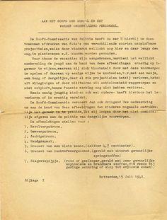 Rotterdam In 1940 werden scholen per brief gewaarschuwd voor achtergebleven munitie en het risico voor kinderen