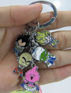 Dragon Ball Z Keychain Set DBKY1527 | 123COSPLAY | Anime Merchandise Shop Free Shipping From China | Anime Wholesale