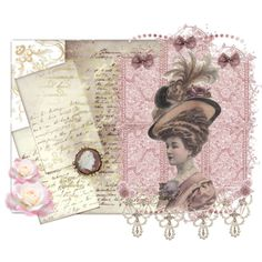 """""""~Victorian letters~"""" by christi1 on Polyvore"""