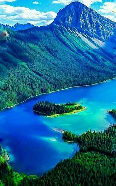 Beautiful Landscape of Nature, Peito Lake, Banff National Park, Alberta, Canada Beautiful Nature Pictures, Beautiful Nature Wallpaper, Nature Photos, Amazing Nature, Pretty Pictures, Beautiful Landscapes, Beautiful World, Beautiful Places, Beautiful Scenery