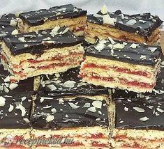 Isler szeletben Tiramisu, Snacks, Cookies, Cake, Ethnic Recipes, Food, Kitchen, Crack Crackers, Appetizers