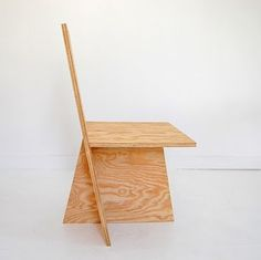 Plywood Chair  //  Considering designs for seating