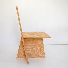 Frank Lloyd Wright Plywood Usonian Chair C1950