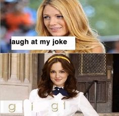 """Eighteen Gaming Memes Because You Can't Go Outside Anyway - Funny memes that """"GET IT"""" and want you to too. Get the latest funniest memes and keep up what is going on in the meme-o-sphere. Gossip Girls, Gossip Girl Funny, Gossip Girl Memes, Funny Girl Meme, Funny Memes Tumblr, Funny Memes About Girls, Love Memes, Funny Love, Really Funny"""