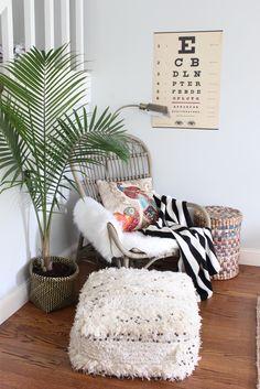 Bohemian Living Room featuring @WorldMarket and their new fall line! #SpruceUpYourSpace #WorldMarketTribe #sponsored