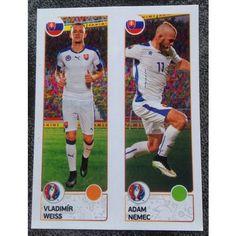 Football Soccer Sticker Panini UEFA Euro 2016 #212 Slovakia