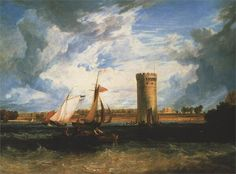 J.M.W.Turner(1775ー1851)「The Seat of Sir JF Leicester」