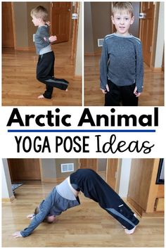 Fun yoga and movement ideas to go with an arctic theme. Great for your polar unit, arctic unit or to use as a brain break. A fun gross motor and motor room activity as well. Great to use all winter long! Animal Activities For Kids, Gross Motor Activities, Movement Activities, Music Activities, Physical Activities, Winter Activities, Infant Activities, Animal Yoga, Artic Animals