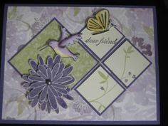 Dear Friend: Humming Bird by *MyHappyPlace* - Cards and Paper Crafts at Splitcoaststampers