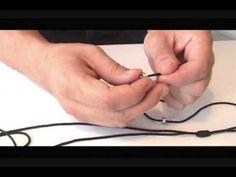 ▶ como hacer las pulseras de nudo franciscano parte 1 - YouTube
