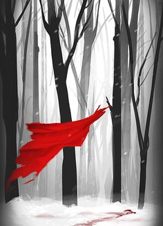 Death of Little Red Riding Hood by Eaworks on DeviantArt