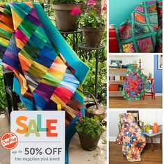 It's that time of year again! Time for back-to-school AND back to your favorite craft - quilting! Craftsy is offering up to 50% off all quilting kits, classes and supplies to help you get started. The sale runs through Tuesday, September 7, so make sure you're not tardy to this event!