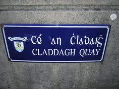 Galway -where the claddagh ring originated
