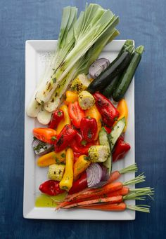The BBQ Queens' Knife-and-Fork Grilled Vegetable Salad #foodandwine #fwpinandwin