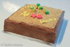 Sandbox cake.