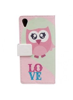 Housse Sony Xperia L1 - Hibou Love
