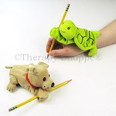 Furry Animal Hand Weights | Handwriting, Sleeve Weights | Deep Pressure Input