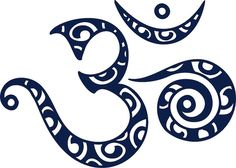 symbole de la force spirituelle- tatouage Om mantra bouddhiste