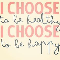 Choosing to Live a Healthy Happy Lifestyle - Jenn and the City Daily Motivation, Fitness Motivation, Fitness Quotes, Health Quotes, Choose Me, Get Healthy, Healthy Food, Happy Healthy, Healthy Weight Loss