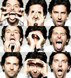 The Many Faces of Bradley Cooper