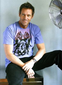Hugh laurie: who knew he had an English accent? Just adds to his awesomeness.