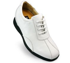 White  men's?shoes?to make you taller?uk 7.5cm / 2.95inch with the SKU:MENJGL_7386 - calfskin men elevator casual shoes get taller 7.5cm / 2.95inches